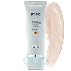 Тональный крем увлажняющий Cristian Dior - Hydra Life Pro-Youth Skin Tint SPF 20 №01 - 50 ml TESTER