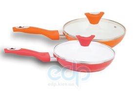 Maestro - сковорода с крышкой диаметр 26 см с керамическим покрытием (арт. МР1209-26)