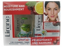 Lirene - Lirene - Набор Увлажняющий для лица - 175 ml
