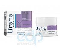 Lirene - жирная и комбинированная кожа Матирующий увлажняющий крем для лица, день - 20 ml