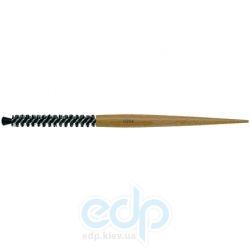 3ME Maestri - 3ME 0210 Расческа с заостренной ручкой из бука с разделителем с усиленной щетиной кабана и кисточкой Scovoli d30mm