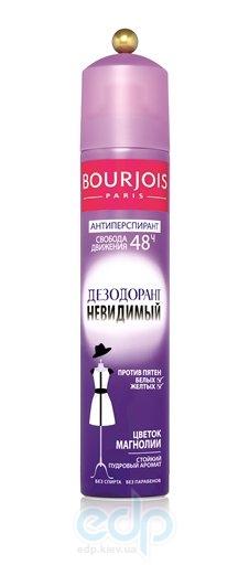 Дезодорант-спрей для тела невидимый, защищающий от белых и желтых следов Bourjois - Deodorant Invisible 48h - 150 ml (304011)