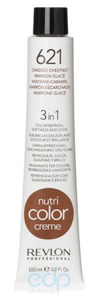 Тонирующий бальзам Revlon Professional - Nutri Color Creme №621 Candied Chesnut/Карамельно-Каштановый - 100 ml
