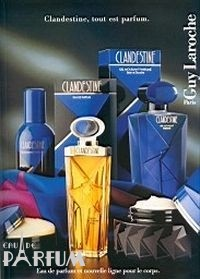Guy Laroche Clandestine VINTAGE For Women - туалетная вода - 50 ml