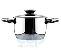Vinzer (посуда) Vinzer -  Кастрюля - нержавеющая сталь, диаметр 18см, 2,8 л, термодатчик (арт. 89081)