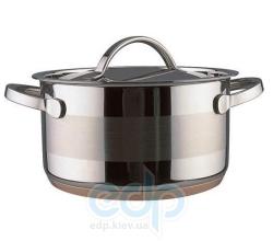 Vinzer (посуда) Vinzer -  Кастрюля - нержавеющая сталь, диаметр 24см, 6,5л , медное дно (арт. 69088)
