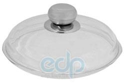 Vinzer (посуда) Vinzer -  Крышка стеклянная - диаметр 28 см, высокая, ручка из нерж, стали, жаростойкое стекло Pyrex (арт. 69389)