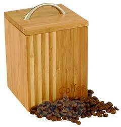 Vinzer (посуда) Vinzer -  Бамбуковая емкость, с надписью COFFEE - 2000 мл (арт. 69921)
