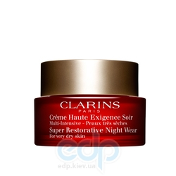 Clarins - Multi-Intensive Восстанавливающий ночной крем для сухой кожи – 50 mll