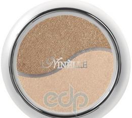 Ninelle Тени для век двойные компактные № 01 коричнево-персиковый - 2 gr (11544)