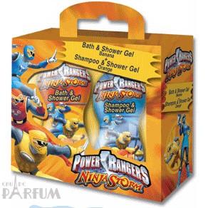 Admiranda Power Rangers Ninja Storm -  Набор (гель для душа 300 + шампунь банан и апельсин 300) (арт. AM 71710)