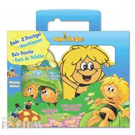 Admiranda Maya the Bee -  Набор (гель для душа с экстрактом цветочного меда 300 + мочалка рукавица) (арт. AM 75006)