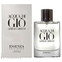 Giorgio Armani Acqua di Gio Essenza pour homme - Набор (парфюмированная вода 75 + гель для душа 75 + бальзам после бритья 75)