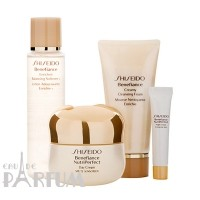 Набор Shiseido - Skin Care Benefiance Nutriperfect Age-Defense Kit (Benefiance NutriPerfect Day Cream SPF15 50ml + Cleansing Foam 50ml + Softener 75ml + Benefiance NutriPerfect Night Cream 4ml)
