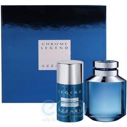 Azzaro Chrome Legend -  Набор (туалетная вода 75 + дезодорант 150)