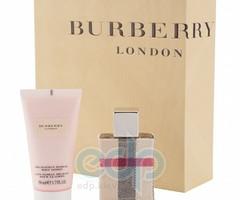 Burberry London Fabric -  Набор (парфюмированная вода 50 + лосьон-молочко для тела 100)