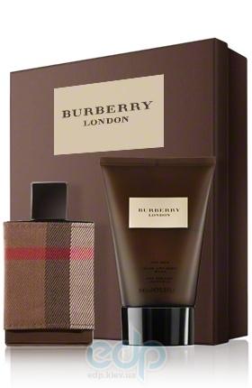 Burberry London Fabric For Men -  Набор (туалетная вода 50 + гель для душа 100)