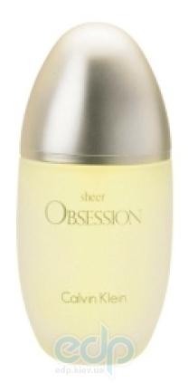 Calvin Klein Obsession Sheer - парфюмированная вода - 100 ml TESTER