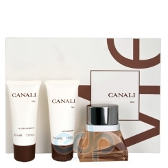 Canali Men -  Набор (туалетная вода 100 + пена 200 + бальзам после бритья 15)