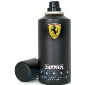 Ferrari Black Man -  дезодорант - 150 ml