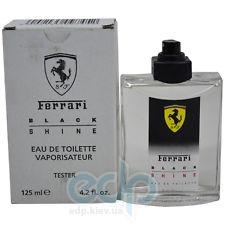 Ferrari Black Shine Man - туалетная вода - 125 ml TESTER