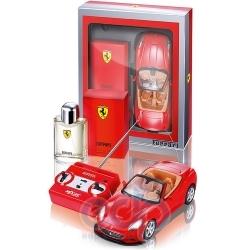Ferrari Red Man -  Набор (туалетная вода 75 + Car Model 1:43)