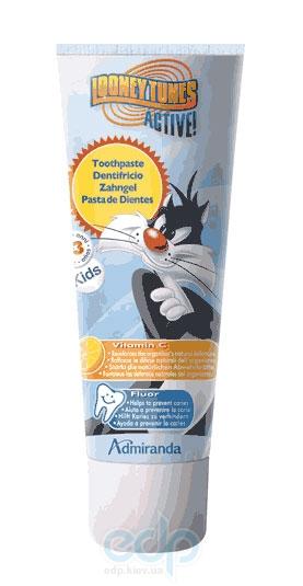 Admiranda Silvester - Зубная паста с фтором и витамином С - 75 ml