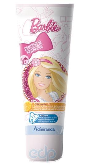 Admiranda Barbie - Зубная паста с фтором и витамином С - 75 ml (арт. AM 72555)