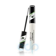 Тушь для ресниц объемная для зеленых глаз с мерцающими частицами Max Factor - Eye Brightening Tonal Black Volumising Mascara - 7.2 ml