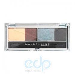 Тени для век 4-цветные компактные Maybelline - EyesStudio №06 Туманная ночь - 5 g