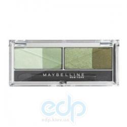Тени для век 4-цветные компактные Maybelline - EyesStudio №04 Гламурный зеленый - 5 g