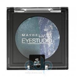 Тени для век 2-цветные запеченные Maybelline - EyeStudio №42 Голубая планета - 4.5 g