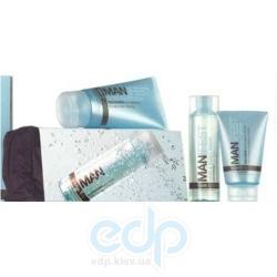 Mades Cosmetics - Manifest с экстрактом спирулины - Набор (гель д/душа-шампунь 125 ml + сыворотка против морщин 75 ml + бальзам после бритья 150 ml)