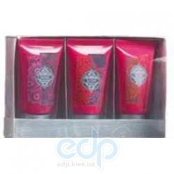 Mades Cosmetics - Indian Dreams восточный цветок - Набор (гель д/душа 30 ml + лосьон д/тела 30 ml + крем д/рук 30 ml)