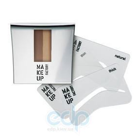Make up Factory - Пудра для бровей с трафаретом Eye Brow Powder 04 - 7.5 g (24804)