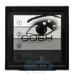 Тени для век Gosh - Smokey Eyes №01 Black/Grey - 8 g