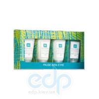 Mades Cosmetics - Pause Bien-Etre тропический лес - Набор (гель для душа 30 мл+лосьон для тела 30 мл+крем для рук 30 мл+скраб для тела 30 мл)