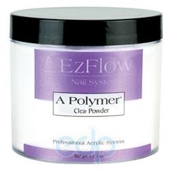 EzFlow - Прозрачная акриловая пудра A-Polymer Clear Acrylic Powder - 227 г