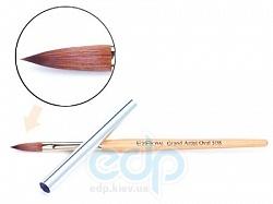 EzFlow - Кисть из соболя, размер №8 Grand Artist Oval 508