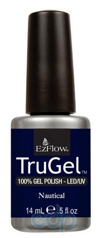 EzFlow - Гель-лак EzFlow TruGel Nautical № 424 темно-синий перламутр - 14 ml