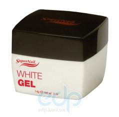 SuperNail (esn) - Белый конструирующий гель White Gel - 14 g