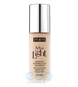 Pupa - Крем тональный для лица с эффектом естественного сияния для всех типов кожи Active Light №011 SPF10 Светло-бежевый - 30 ml