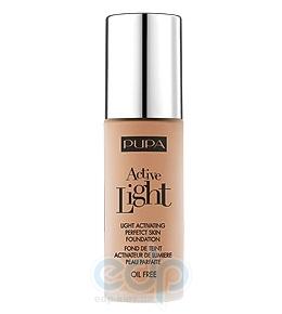 Pupa - Крем тональный для лица с эффектом естественного сияния для всех типов кожи Active Light №051 SPF10 Темно-песочный - 30 ml