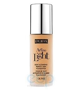 Pupa - Крем тональный для лица с эффектом естественного сияния для всех типов кожи Active Light №060 SPF10 Янтарный - 30 ml