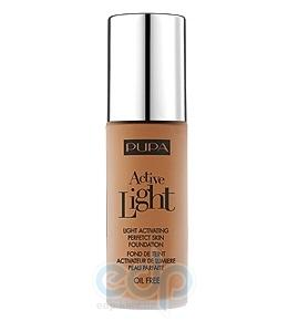 Pupa - Крем тональный для лица с эффектом естественного сияния для всех типов кожи Active Light №070 SPF10 Светлый загар - 30 ml