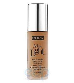Pupa - Крем тональный для лица с эффектом естественного сияния для всех типов кожи Active Light №075 SPF10 Темный загар - 30 ml
