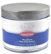 ibd - Прозрачная акриловая пудра Crystal Clear Flex Polymer Powder - 113 g