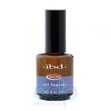 ibd - УФ-быстросохнущее верхнее покрытие для лака UV Topcoat - 14 ml