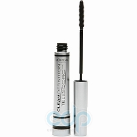 L'Oreal Тушь для ресниц Lоreal -  Telescopic Clean Defenition Black/Черный