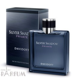Davidoff Silver Shadow Private - туалетная вода -  пробник (виалка) 1.2 ml